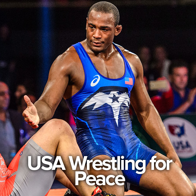 USA WRESTLING FOR PEACE